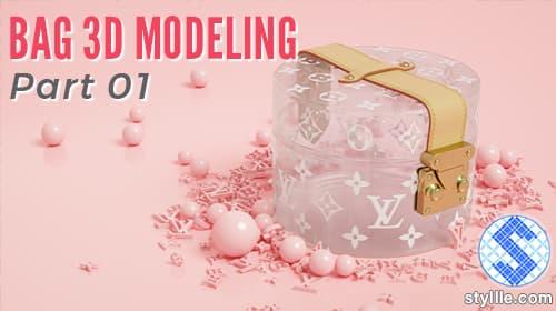 Bag 3D modeling ttutorial in 3ds max par 1