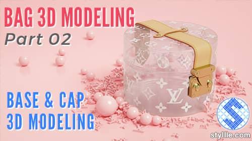 Bag 3D modeling ttutorial in 3ds max par 2