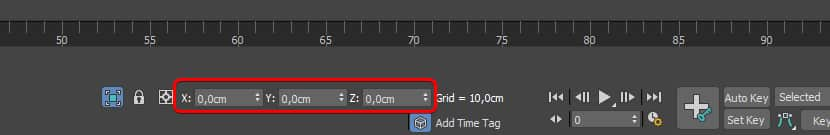 Position fields in 3ds max