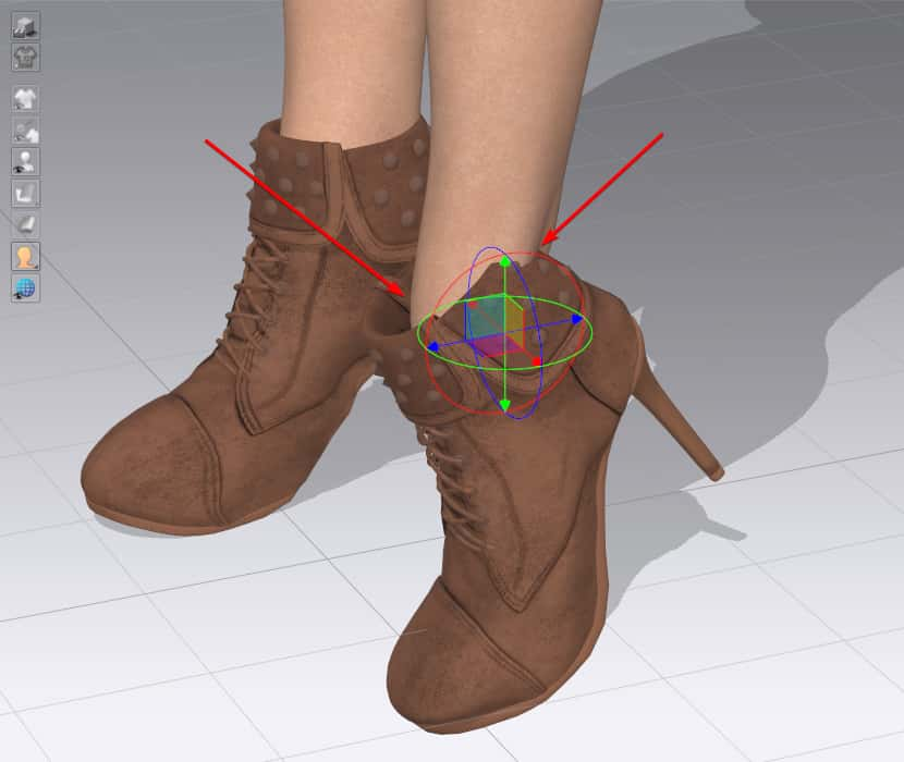 Issue with the shoe model in CLO 3D