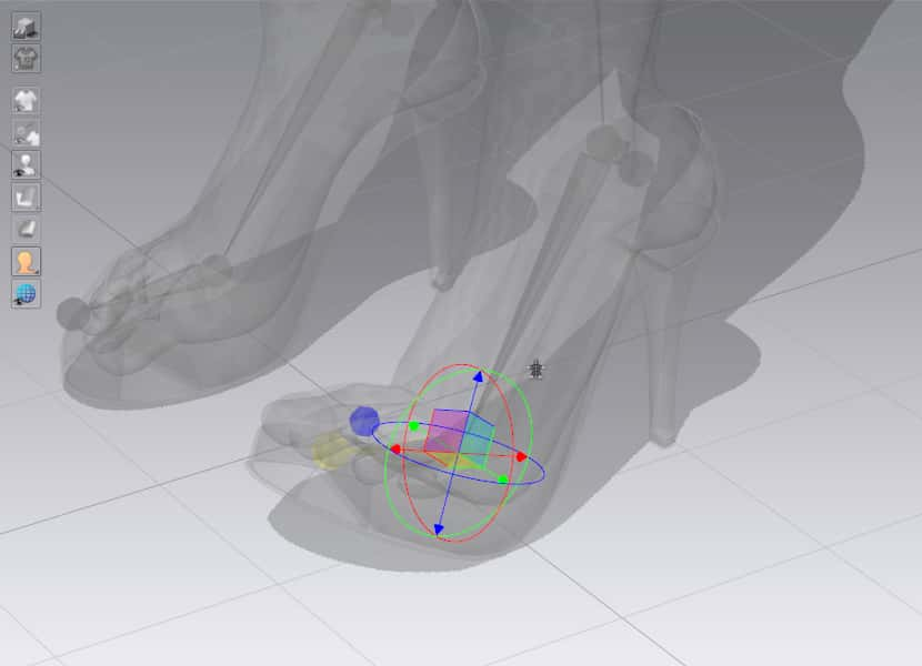How to fix shoe in CLO 3D