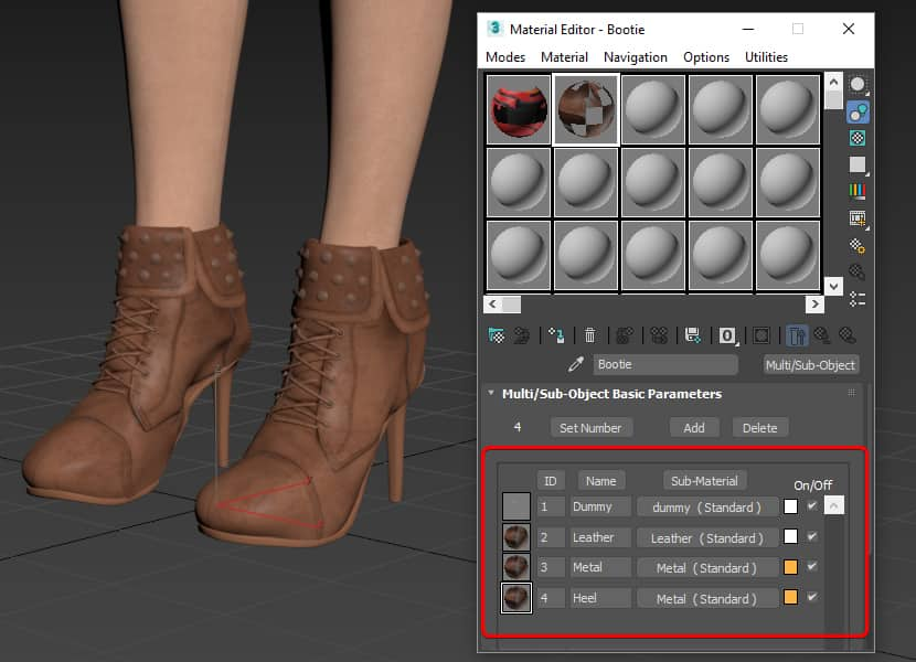 Materials setup in 3ds max before export to CLO 3D