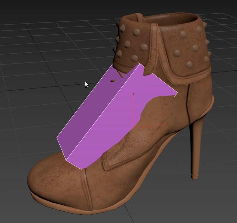 Exporting high heel shoe 3d model to CLO 3D