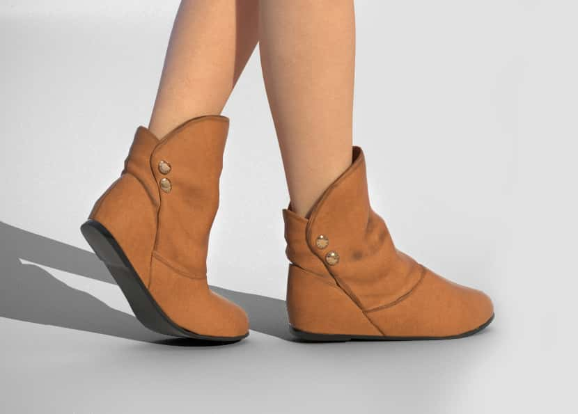 Export flot shoes to Clo 3D