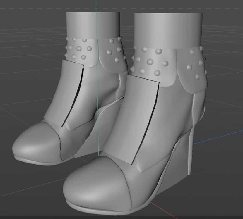 Cinema 4D Photorealistic Shoe Model download