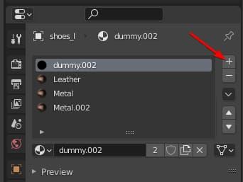 Create new matyerial in Blender